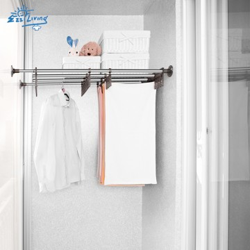 EZ Drying Rack Between Walls